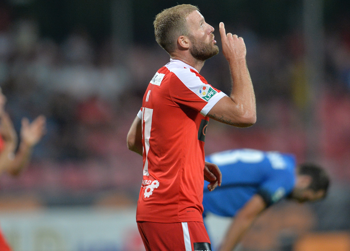 Nemec Scored In Romanian Derby
