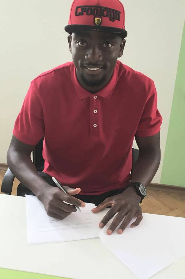 "Ohene Signed New Contract With ""Beroe"""