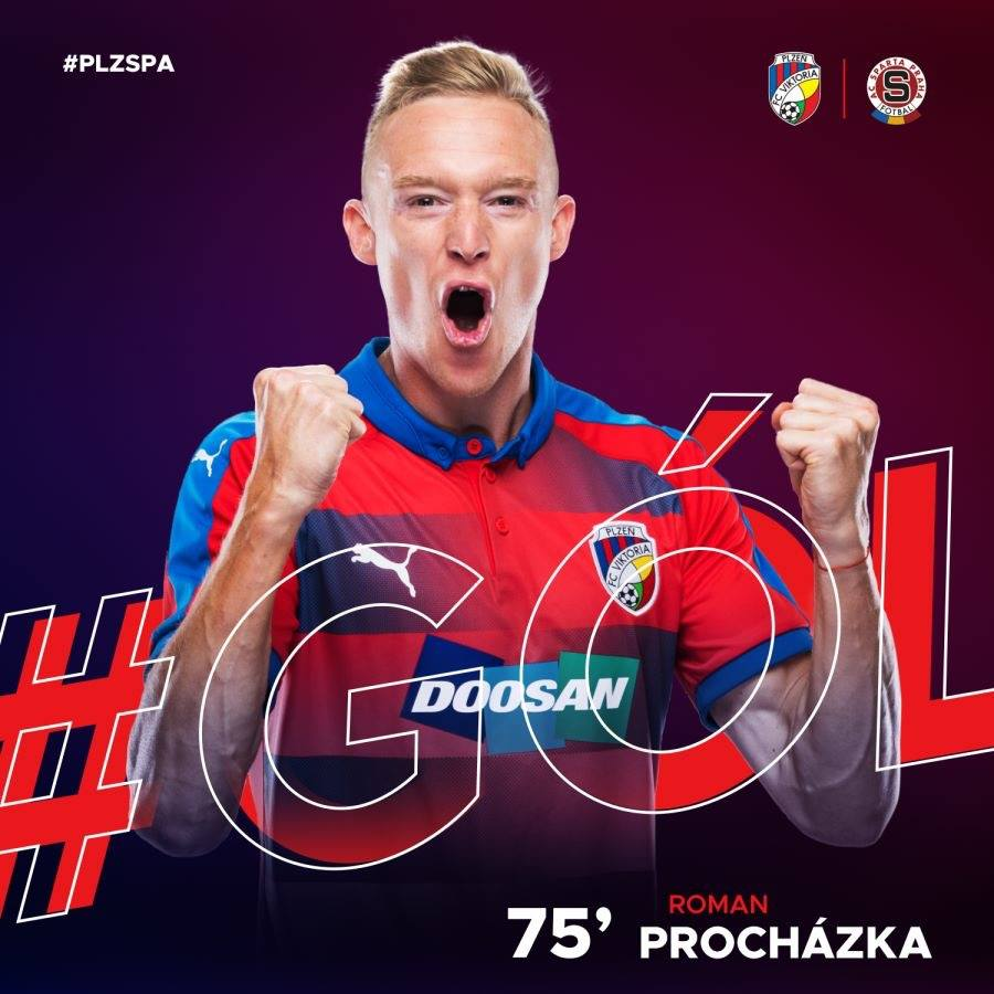 Procházka Scored The Winning Goal Against Sparta Prague