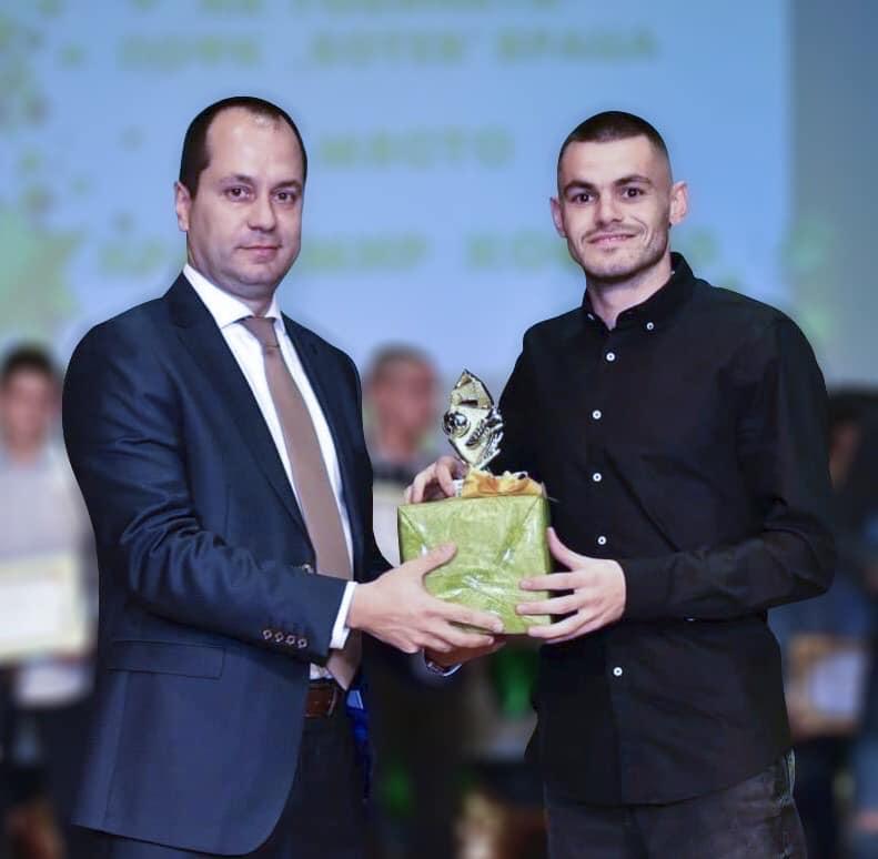 Красимир Костов E Футболист на годината във Враца
