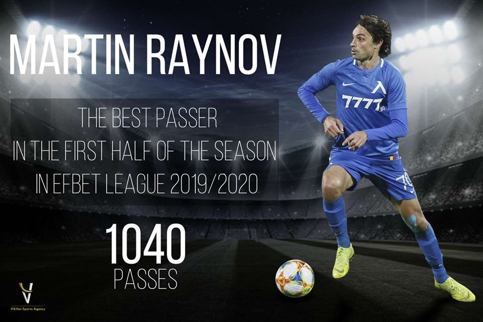Martin Raynov Is The Best Passer In Efbet League