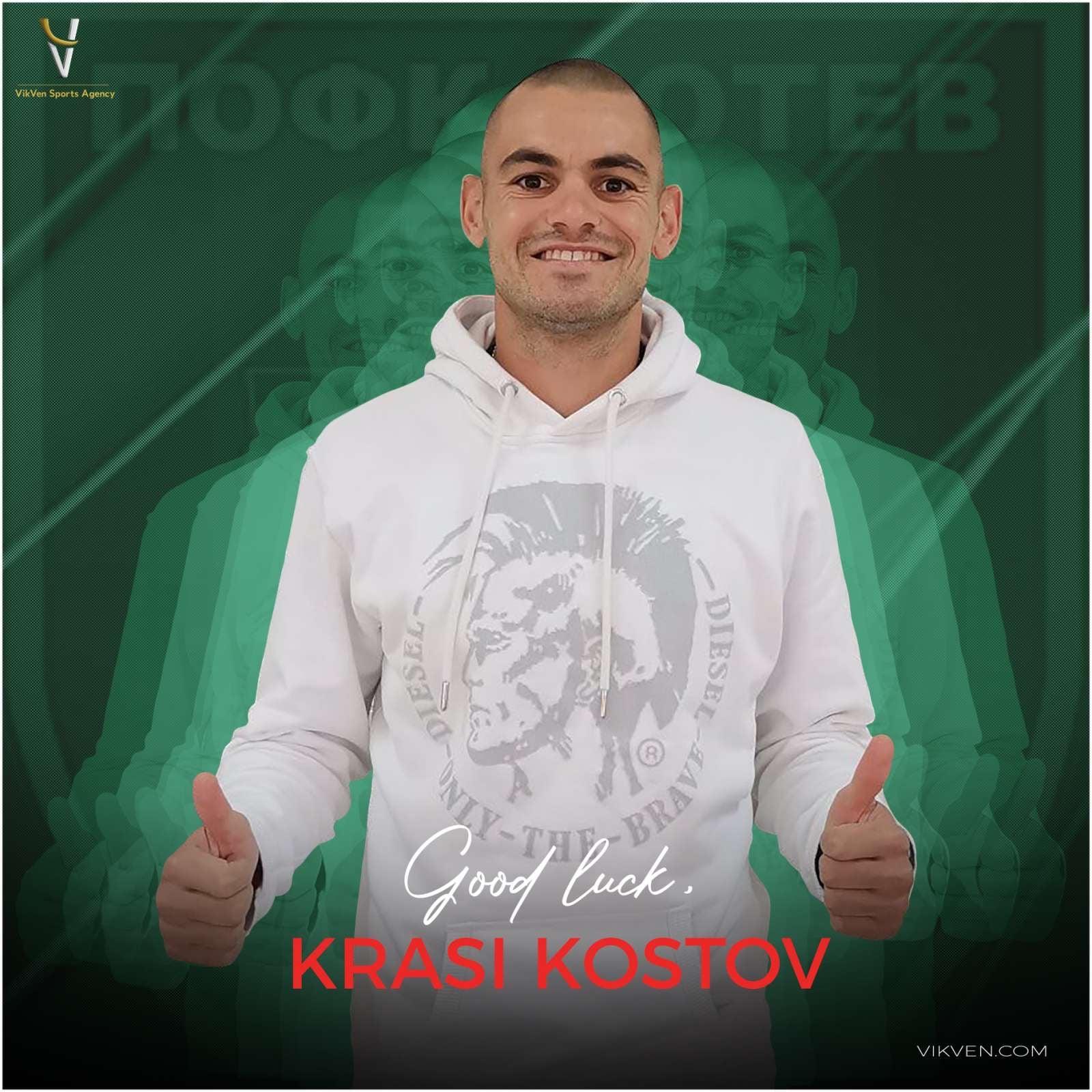Krasimir Kostov Extended His Contract With Botev Vratza