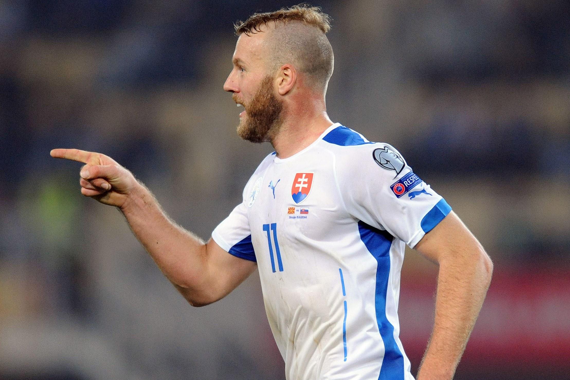 Nemec Scored For Slovakia