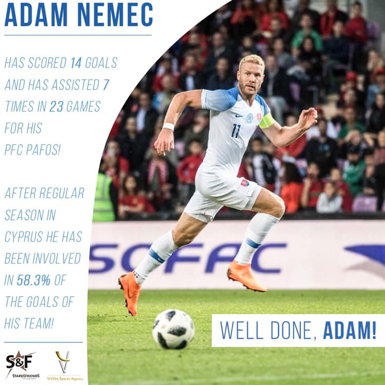 Adam Nemec With Great Achievement